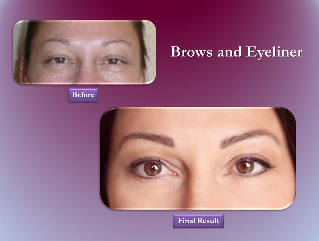Brows & Eyeliner permanent makeup