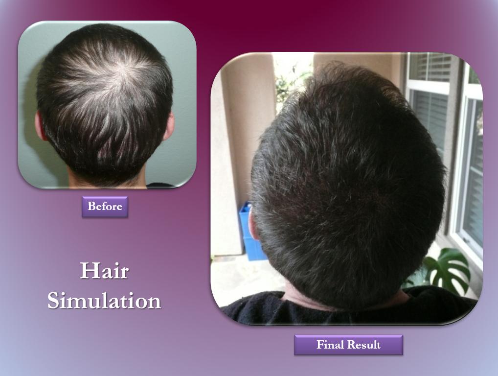 hair simulation permanent makeup
